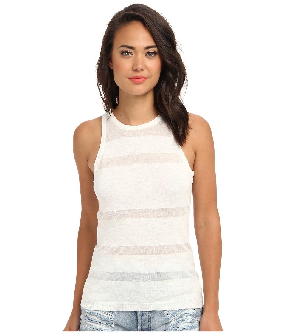 Sanctuary - Illusion Tank (White) Women's Clothing