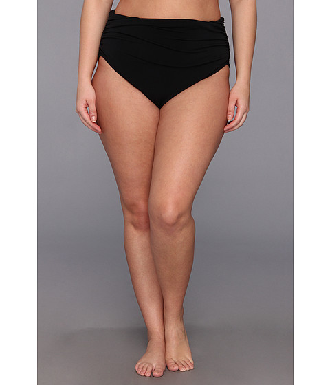 Magicsuit - Plus Size Solid Jersey Brief (Black) Women