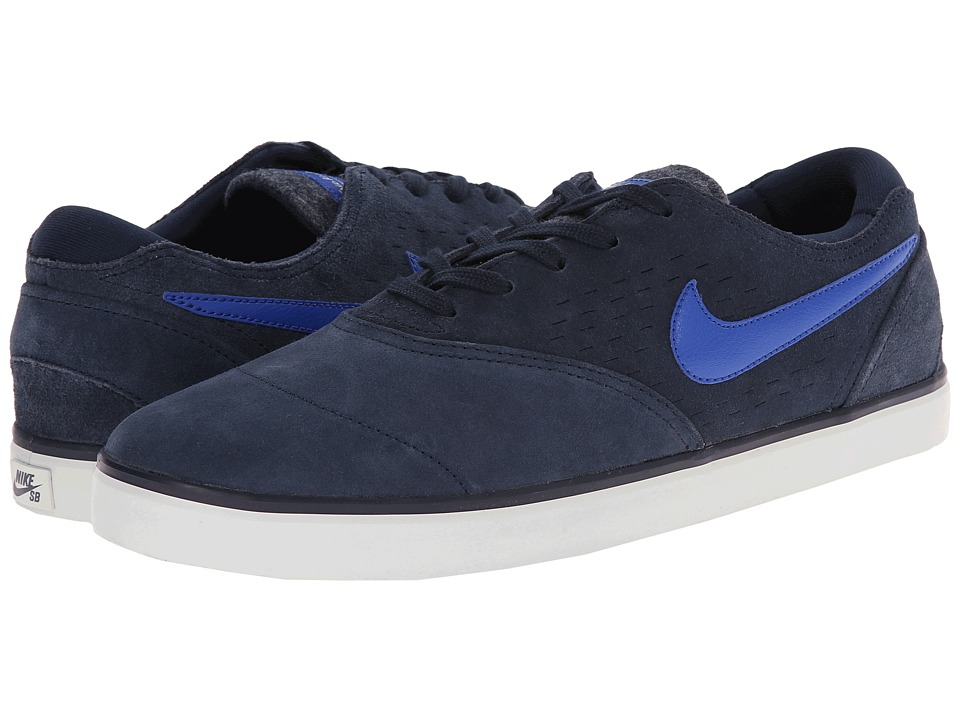 Nike SB - Eric Koston 2 LR (Obsidian/Light Ash Grey/Game Royal) Men's Skate Shoes