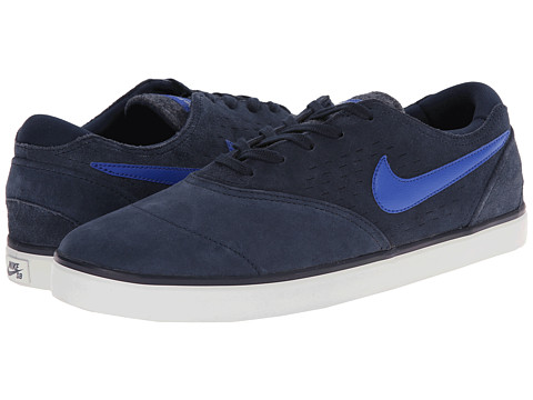 Nike SB - Eric Koston 2 LR (Obsidian/Light Ash Grey/Game Royal) Men