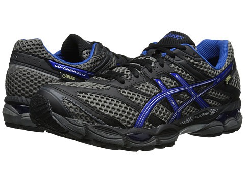ASICS - GEL-Cumulus 16 GTX (Carbon/Royal/Lightning) Men's Running Shoes