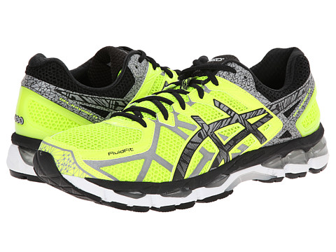 ASICS - GEL-Kayano 21 Lite-Show (Safety Yellow/Lite/Black) Men