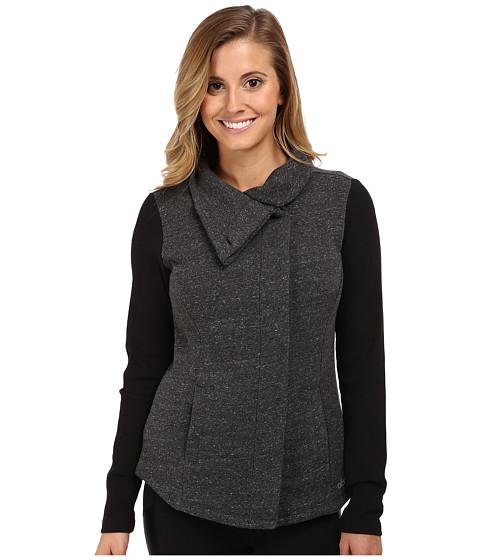 ALO - Harbor Jacket (Dark Heather Grey/Black) Women's Coat