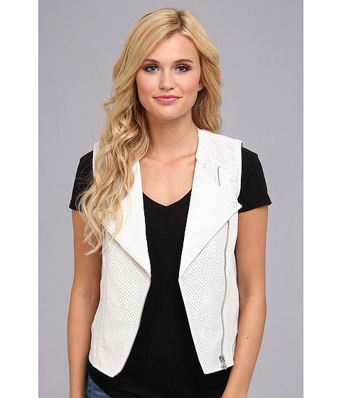 Sanctuary - City Vegan Vest (White) Women