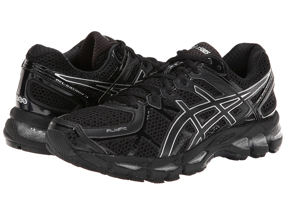 ASICS - GEL-Kayano 21 (Onyx/Black/Silver) Women's Running Shoes