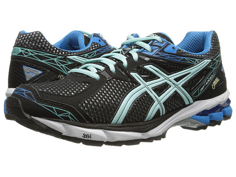 ASICS - GT-1000 3 GTX (Black/Ice Blue/Blue) Women's Running Shoes