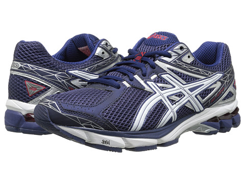 ASICS - GT-1000 3 (Midnight/White/Red) Men