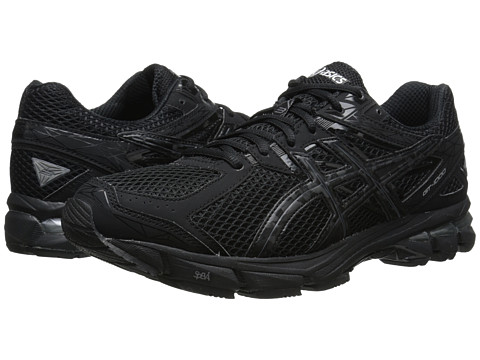 Asics Women S Gt  Running Shoe Black Onyx Lightning Size