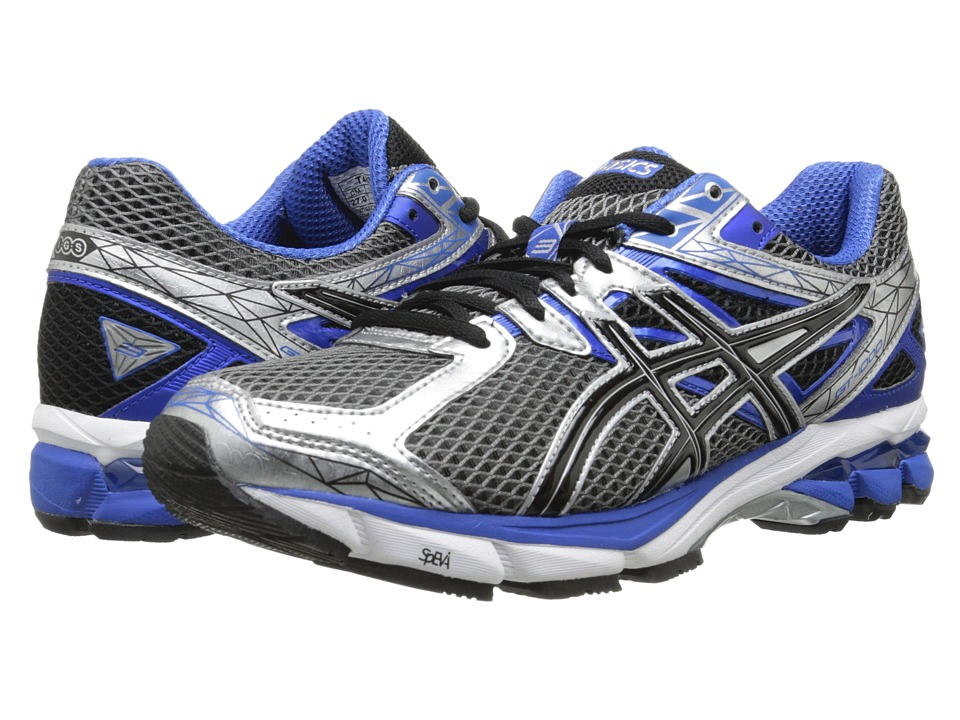 ASICS - GT-1000 3 (Lightning/Black/Royal) Men's Running Shoes
