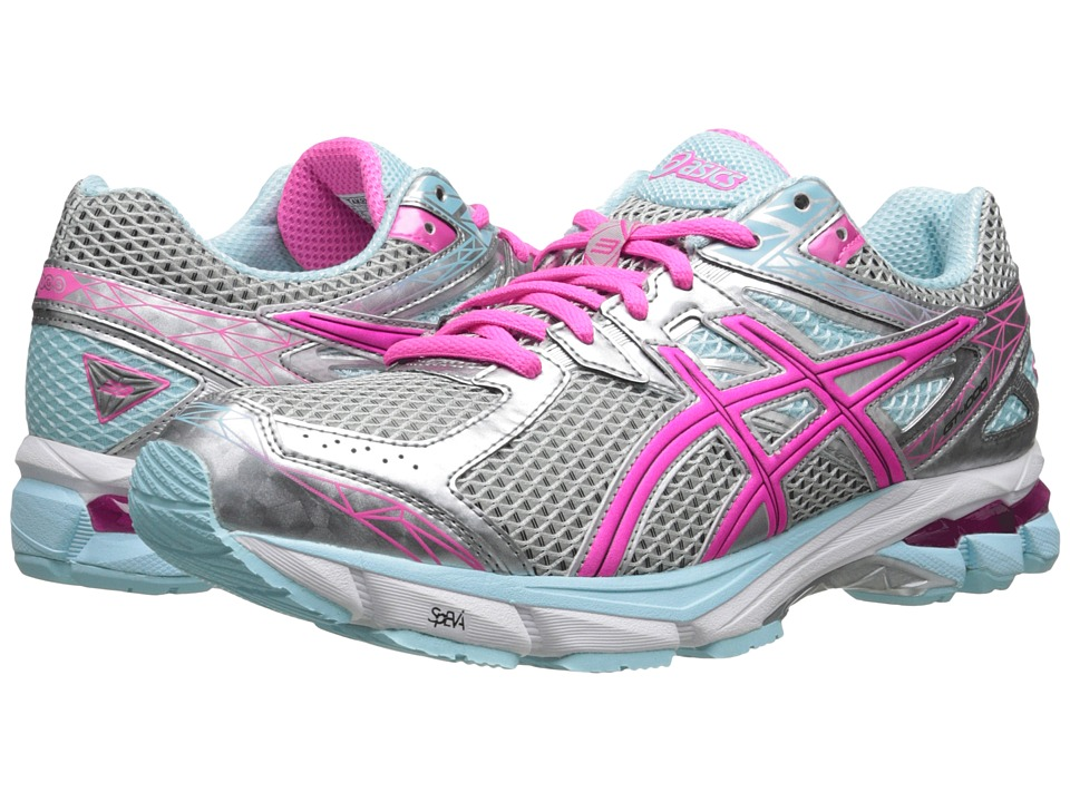 ASICS - GT-1000 3 (Lightning/Hot Pink/Mint) Women's Running Shoes