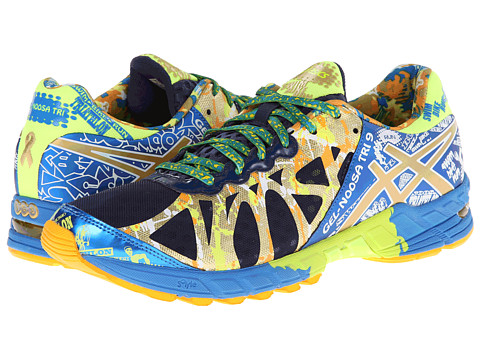 ASICS - GEL-Noosa Tri 9 GR (Navy/Gold/Gold Ribbon) Men's Running Shoes