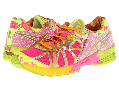 ASICS - GEL-Noosa Tri 9 GR (Hot Pink/Gold/Gold Ribbon) Women's Running Shoes
