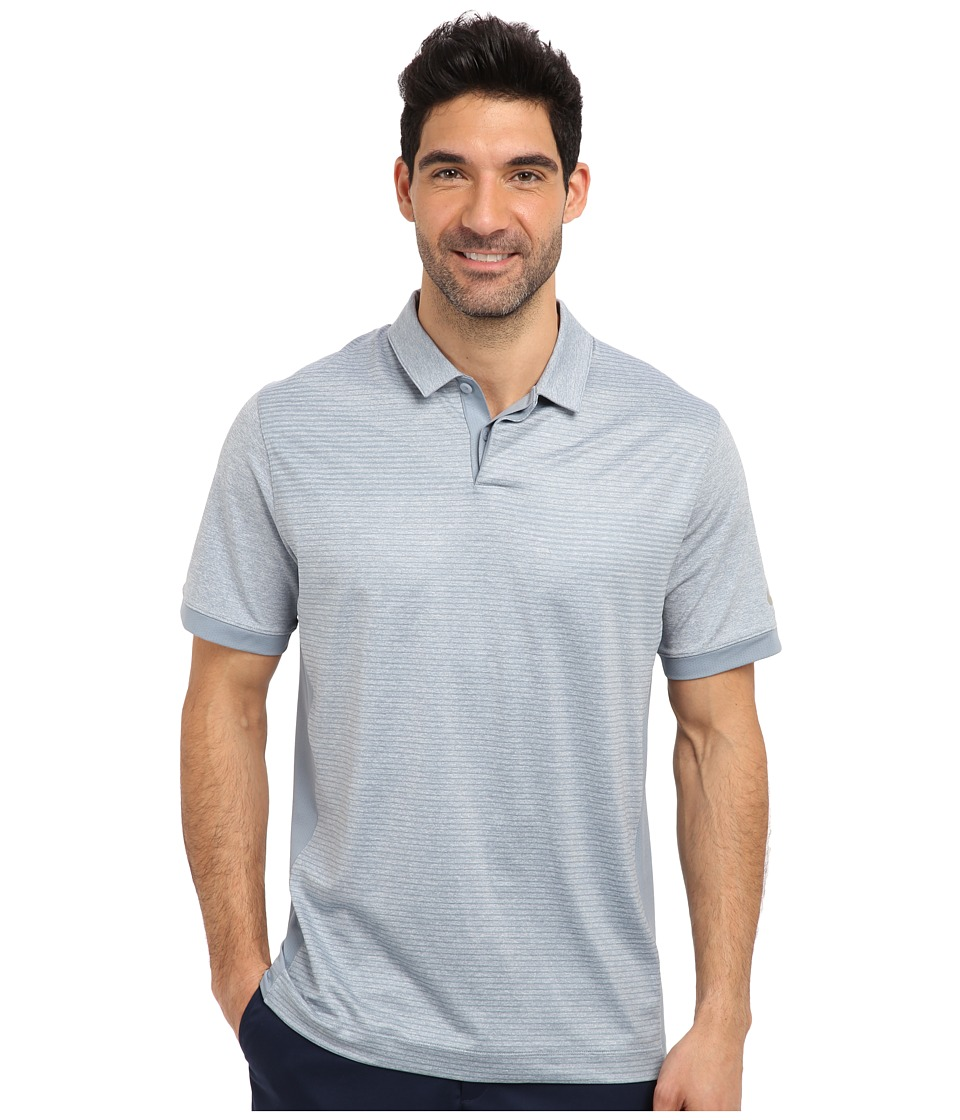 Nike Golf - Nike Speed Print Polo (Light Magnet Grey/Metallic Silver) Men's Short Sleeve Knit