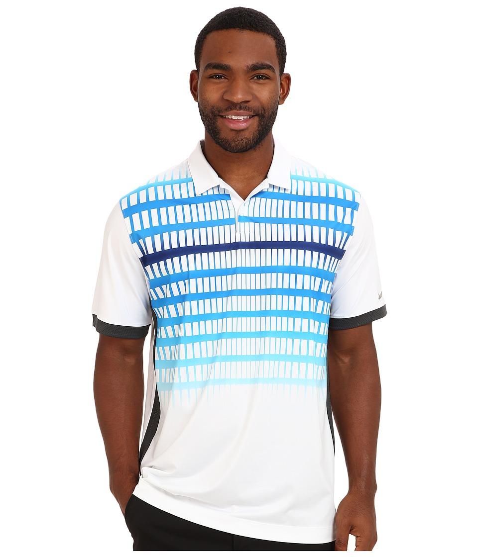 Nike Golf - Innovation Speed Stripe Polo (White) Men