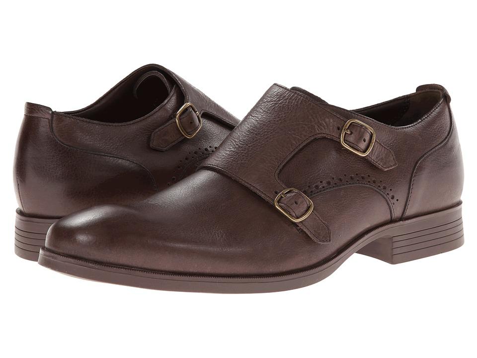 Cole Haan - Copley Double Monk (Chestnut) Men's Monkstrap Shoes