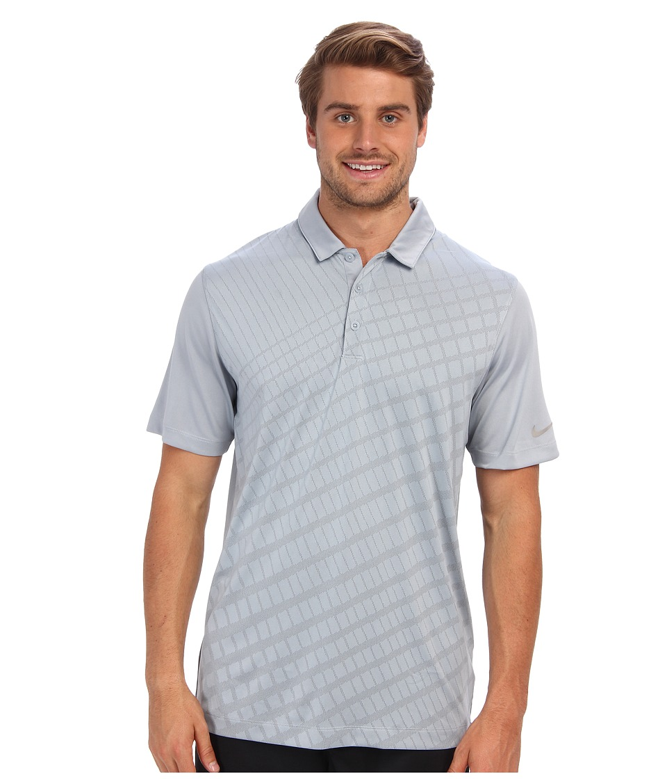 Nike Golf - Innovation Two Color Jacquard Polo (Light Magnet Grey) Men's Short Sleeve Pullover