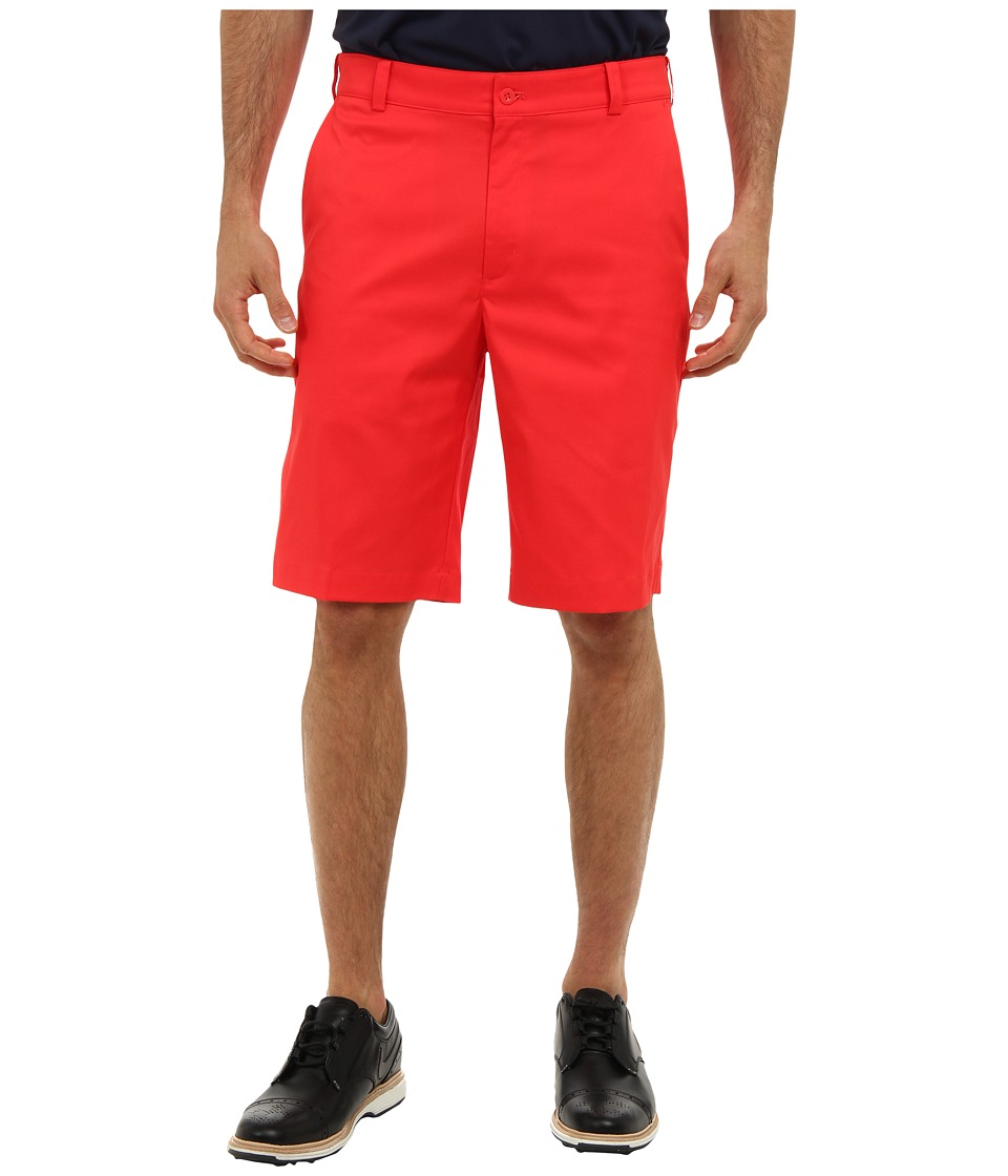 Nike Golf - Flat Front Tech Short (Action Red/Action Red) Men