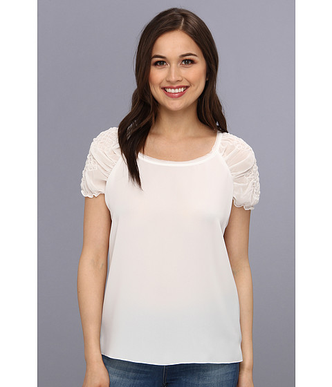 T Tahari - Ethel Blouse (Joey White) Women