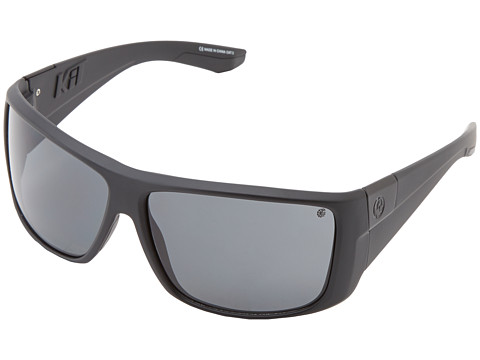 Dragon Alliance - Kit Polarized (Matte Black/Grey Polarized) Sport Sunglasses