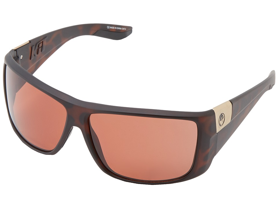 Dragon Alliance - Kit Polarized (Matte Tortoise/Copper Polarized) Sport Sunglasses