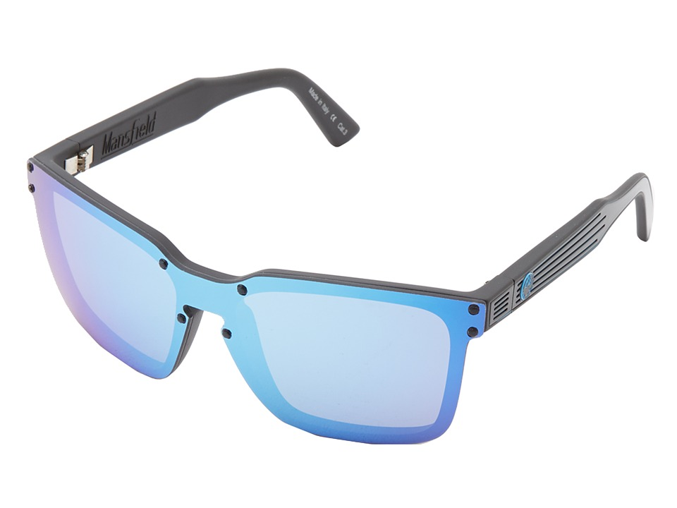 Dragon Alliance - Mansfield (Black/Sky Blue Ion) Sport Sunglasses
