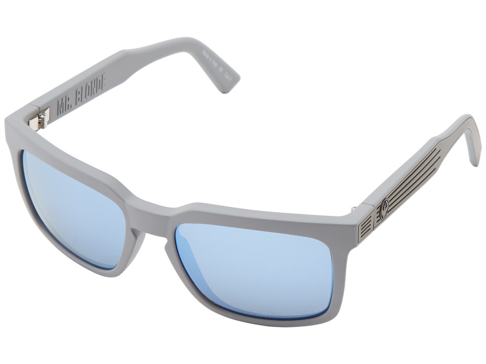 Dragon Alliance - Mr Blonde (Grey Matter/Sky Blue Ion) Sport Sunglasses