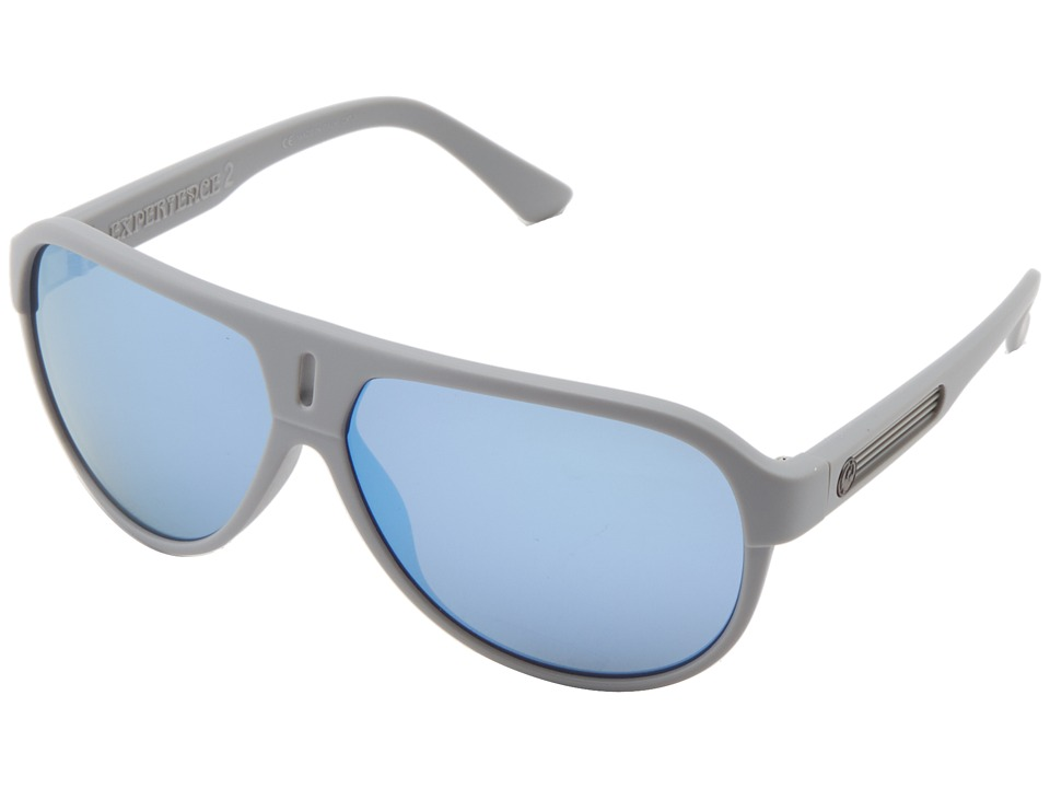 Dragon Alliance - Experience II (Grey Matter/Sky Blue Ion) Sport Sunglasses