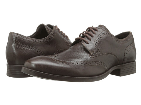 Cole Haan - Copley Wingtip Derby (Chestnut) Men's Lace Up Wing Tip Shoes