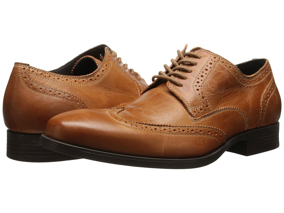 Cole Haan - Copley Wingtip Derby (British Tan 1) Men