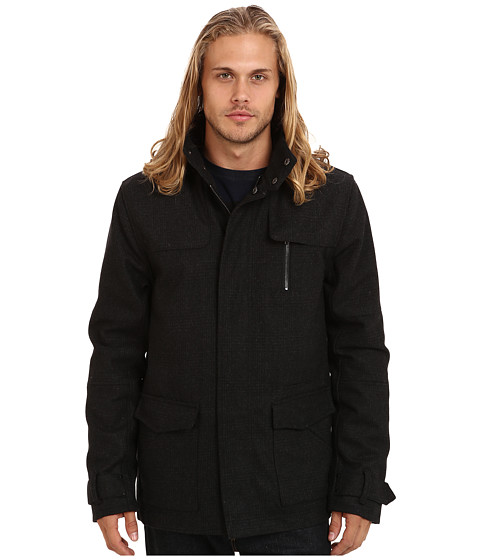 KR3W - Redford Jacket (Black Pattern) Men's Jacket