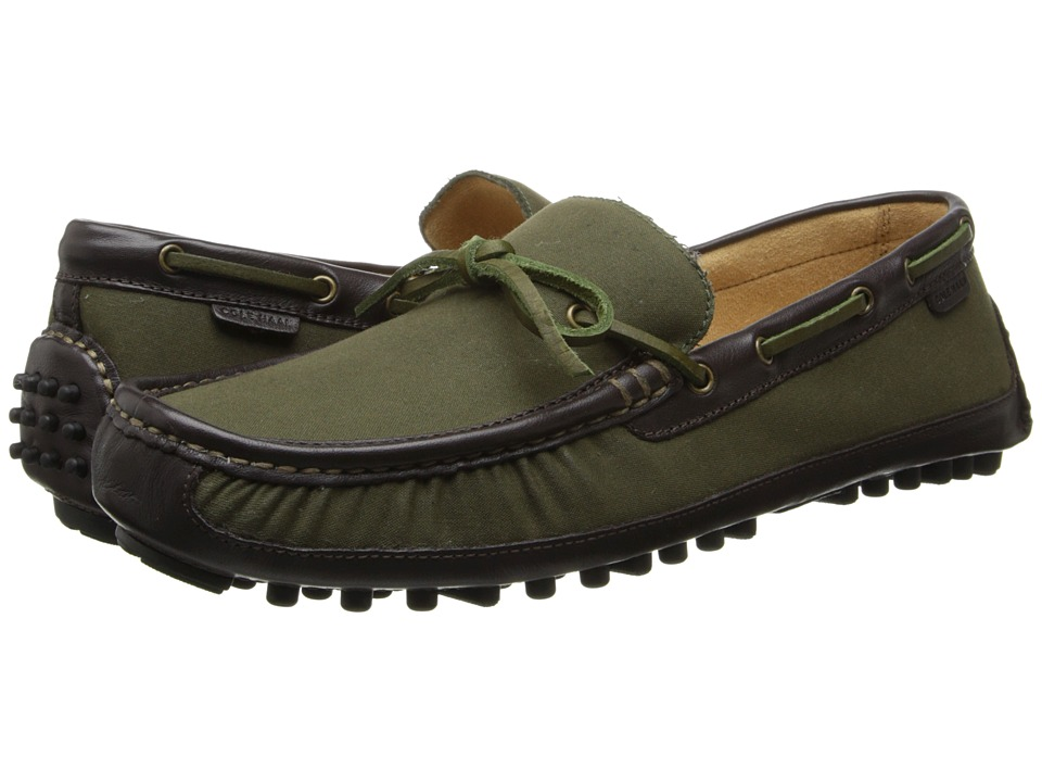 Cole Haan - Grant Canoe Camp Moc (Dark Spruce/Java) Men's Slip on Shoes