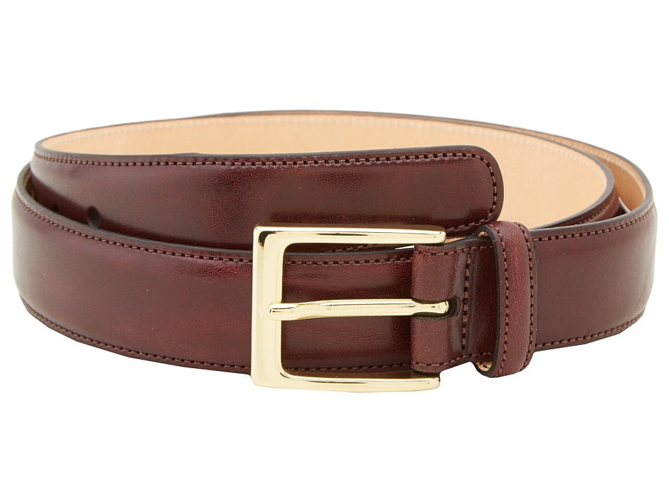 Trafalgar - Cortina (Burgundy) Men's Belts