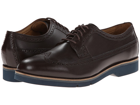 Cole Haan - Great Jones XL Lwing (Chestnut) Men's Lace Up Wing Tip Shoes