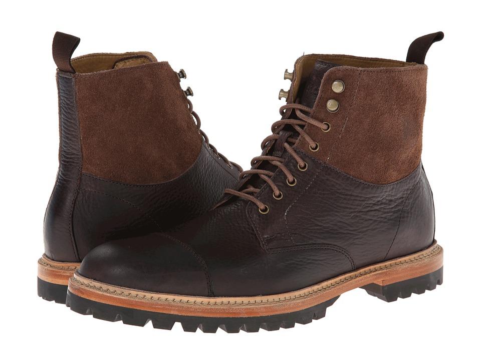 Cole Haan - Judson Captoe Boot (Chestnut/Chestnut) Men