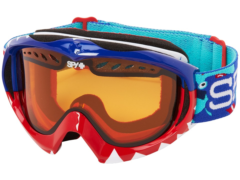 Spy Optic - Targa Mini '12 (Party Sharks/Persimmon) Snow Goggles