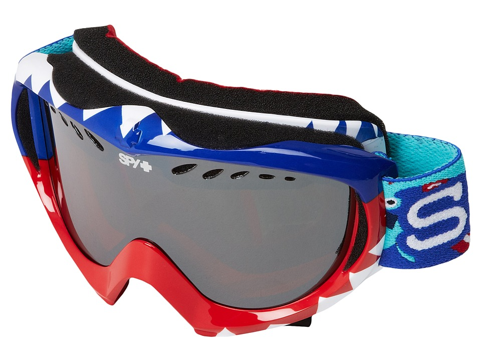 Spy Optic - Targa Mini '12 (Party Sharks/Bronze w/ Silver Mirror) Snow Goggles