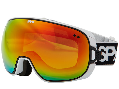 Spy Optic - Doom (White/Bronze w/ Red Spectra/Persimmon Contact) Snow Goggles