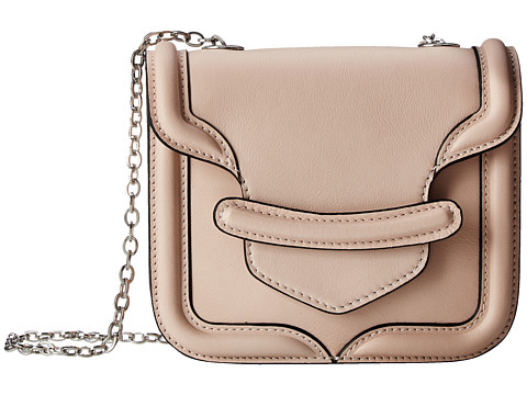 Alexander McQueen - Mini Heroine Chain Satchel (Powder) Cross Body Handbags