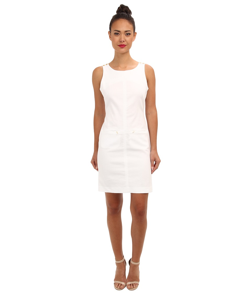Christin Michaels - Bree Dress (White) Women