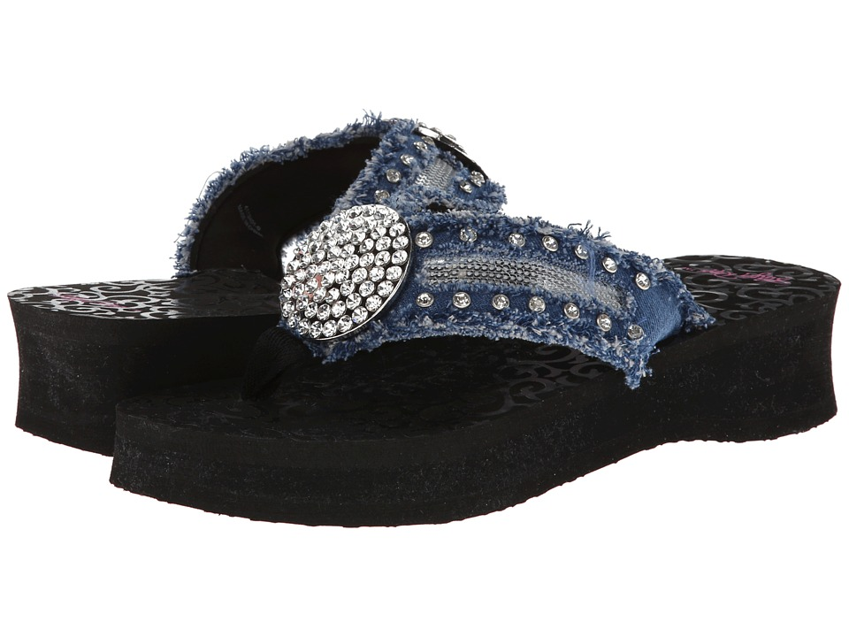 M&F Western - Morgan (Black) Women's Sandals