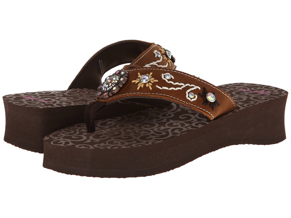 M&F Western - Cassie (Brown) Women's Sandals