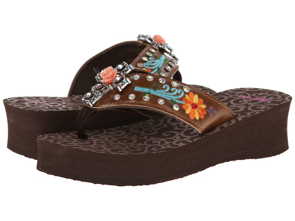 M&F Western - Juley (Brown) Women's Sandals