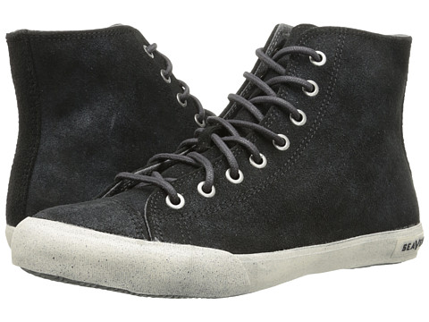 SeaVees - 08/61 Army Issue Sneaker High (Black) Men's Shoes