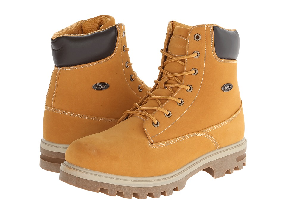 Lugz Empire Hi WR (Golden Wheat/Bark Cream/Gum) Men