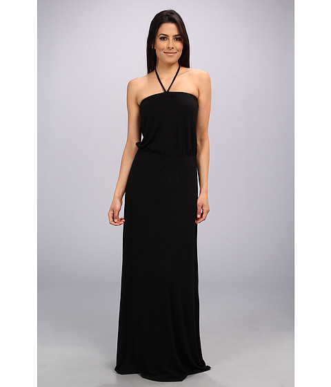 Michael Stars - Modal Strapless Maxi Dress (Black) Women's Dress