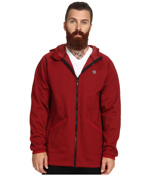DC - Tempo Softshell Hoodie (Rio Red) Men's Sweatshirt