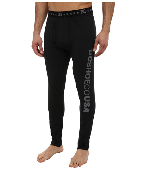DC - Dingy Thermal Pant (Caviar) Men's Workout