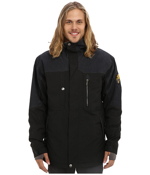 DC - Ranger 15 Jacket (Caviar) Men's Coat