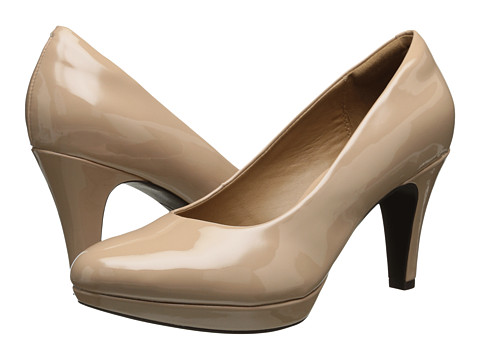 Clarks - Brier Dolly (Nude Synthetic) Women's Shoes