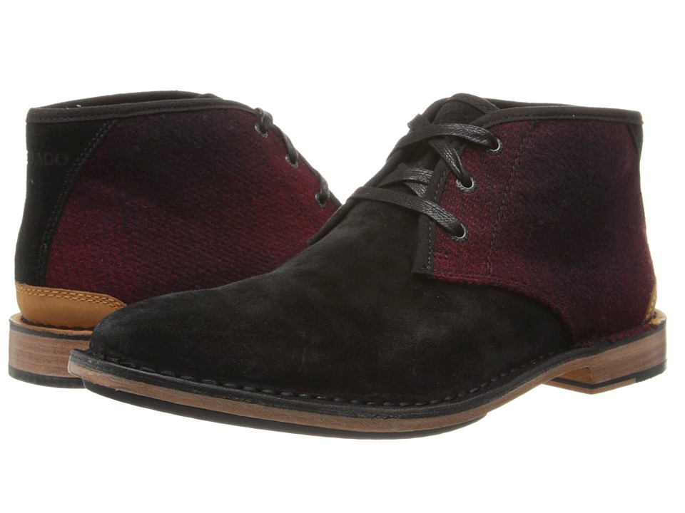 Sebago - Halyard Chukka (Black Suede/Woolrich) Men's Shoes